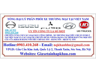 Phụ tùng xe Hyundai Đồng Vàng - County Đồng Vàng - Vinamotor Cabstar - Vinamotor K6