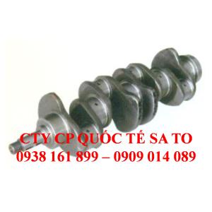 Phụ tùng xe nâng: Tay quay, Trục maniven, Trục khuỷu, Trục cơ. Máy S4E2, động cơ S4E2