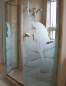 Phun nano Phòng tắm, Buồng tắm kiếng