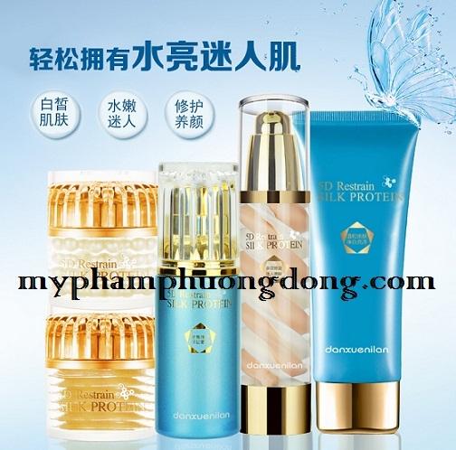 Bộ mỹ phẩm cao cấp Danxuenilan hoàng cung 5D Dưỡng chuyên sâu giúp da trắng hồng