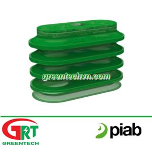 Piab OBL40x90P PE 60   Núm hút chân không hình oval đa tầng   Giác hút chân không   Piab Vietnam