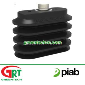Piab OBL40x90P PE 70   Núm hút chân không hình oval đa tầng   Giác hút chân không   Piab Vietnam