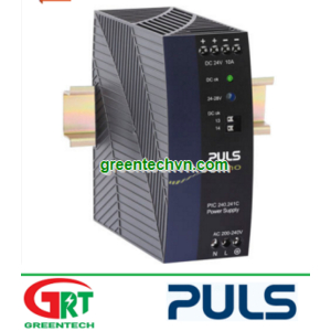 PIC240.241C | Puls PIC240.241| DIN-Rail Power Supplies for 1-phase Systems 24VDC, 10A | Puls Vietnam