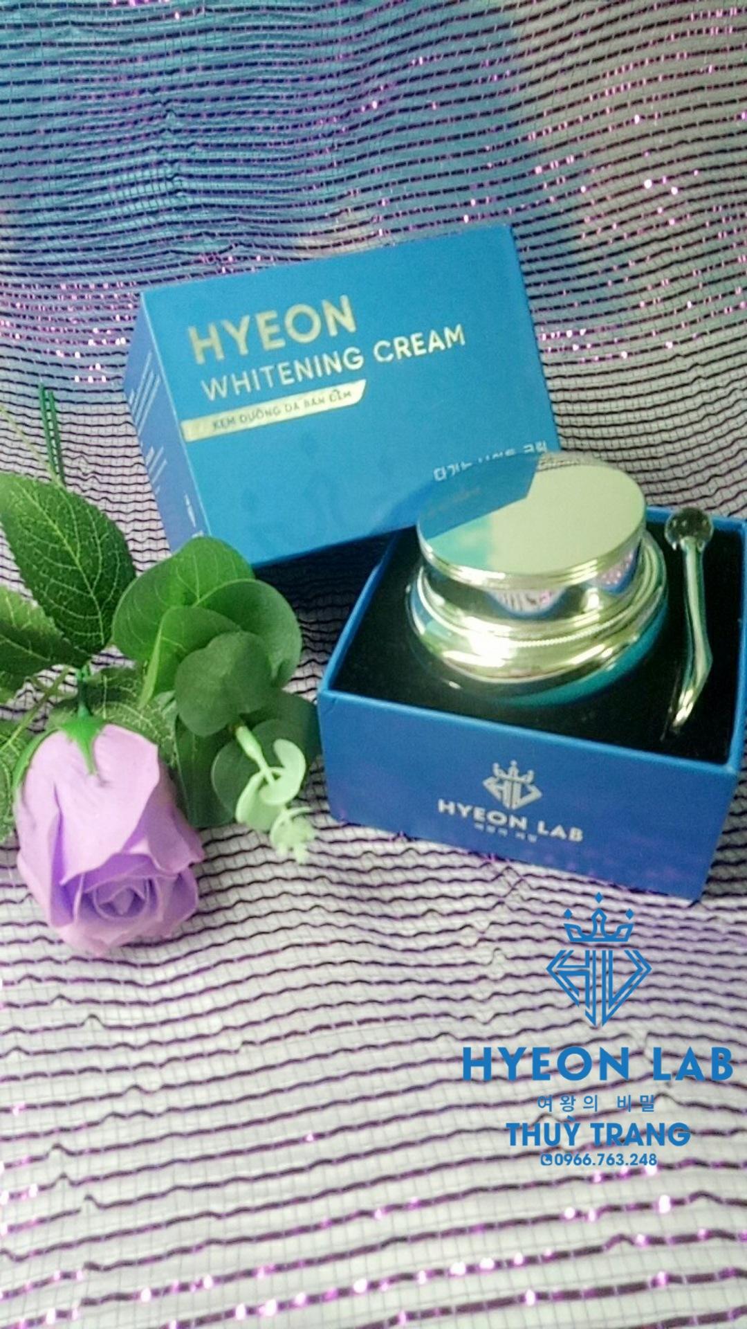 Kem dưỡng trắng da ban đêm Hyeon lab (Hyeon whitening 5 in 1)