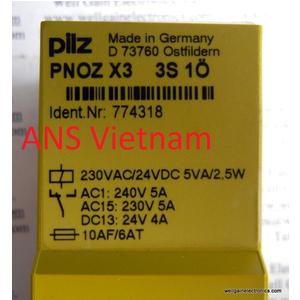 relays Pilz Vietnam, PNOZ X10, rờle pilz vietnam, đại lý pilz vietnam