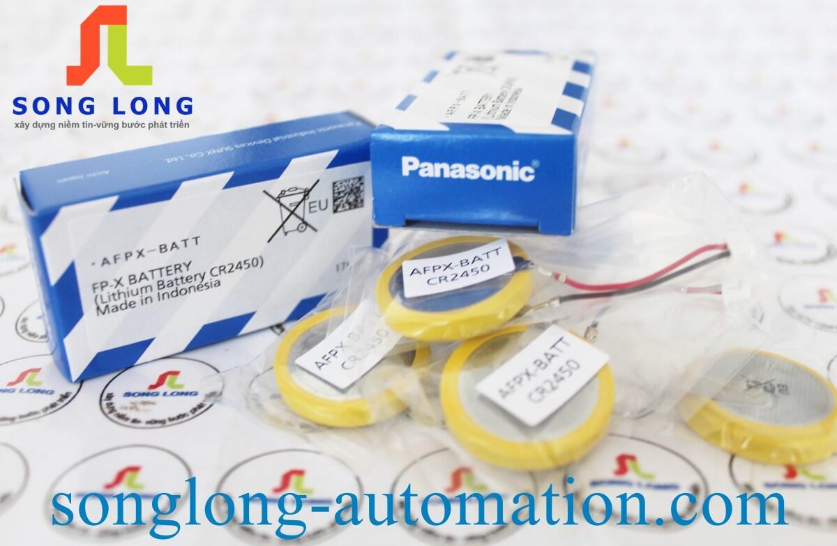 PIN PANASONIC CR2450 AFPX-BATT