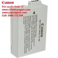 PIN (battery) máy ảnh Canon LP-E8 Rechargeable Lithium (7.2V, 1120mAh) chính hãng original