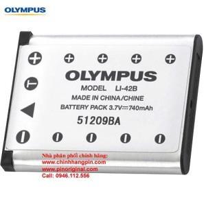 PIN (battery) máy ảnh Olympus LI-42B Rechargeable Lithium-ion chính hãng original