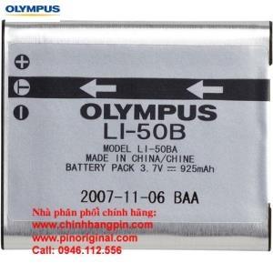 PIN (battery) máy ảnh Olympus Li-50B Rechargeable Li-Ion (3.7V, 925 mAh) chính hãng original