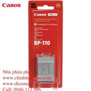 Pin (battery) máy quay Canon BP-110 (5071B002) chính hãng original