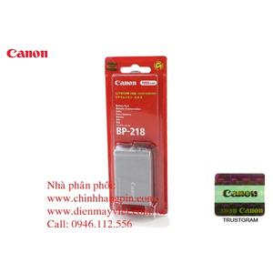 Pin (battery) máy quay Canon BP-218 Lithium-Ion Battery Pack (7.4V, 1800mAh) chính hãng original