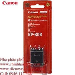 Pin (battery) máy quay Canon BP-808 Lithium-Ion (2740B002) chính hãng original