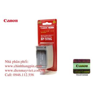Pin (battery) máy quay Canon BP-970G 7.4V, 7200mAh (0972B002) chính hãng original