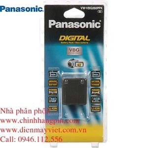 Pin (battery) máy quay Panasonic VW-VBG260 Lithium-Ion chính hãng original