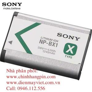 Pin (battery) máy quay Sony NP-BX1/M8 Rechargeable Lithium-Ion (3.6V, 1240mAh) chính hãng original