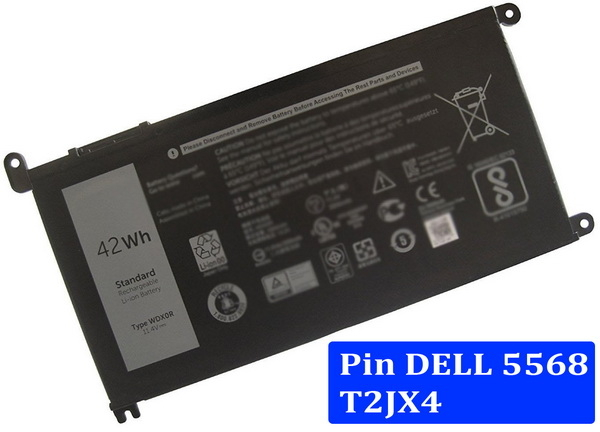pin laptop dell 5568