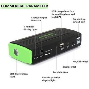 Pin dự phòng di động đa năng - kích điện khởi động ô tô, sạc điện thoại 10.000 mAh - Borsee D8