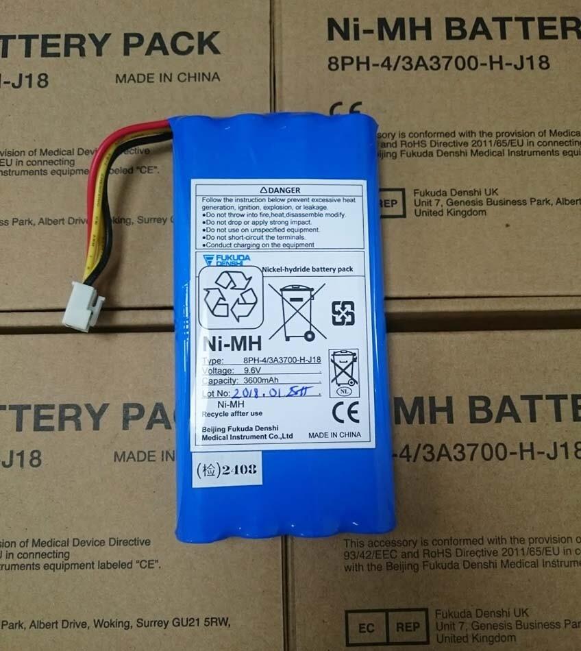 Pin máy đo điện tim Fukuda Denshi FX-7102 (8PH-4/3A3700-H-J18)