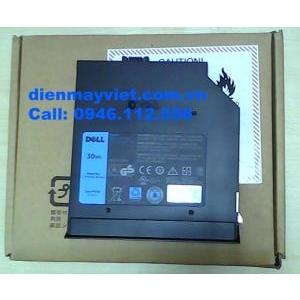 Pin laptop DELL Latitude E6320 E6420 E6520 gắn qua khe ổ đĩa quang, chính hãng original