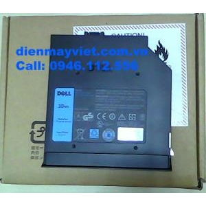 Pin laptop DELL Latitude E6330 E6430 E6530 cắm khe ổ đĩa quang, chính hãng original