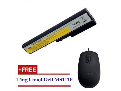Pin Laptop Lenovo G565-6 Cell- 4400 mAh- 48Wh (đen)