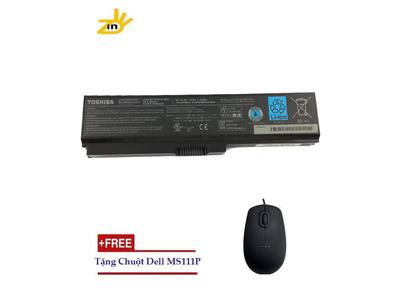 Pin Laptop Toshiba Satellite L630 -6 Cells-4800mAh-48Wh ( Tặng 1 chuột Dell MS111P)