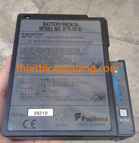 Pin máy hàn quang Fujikura 50S