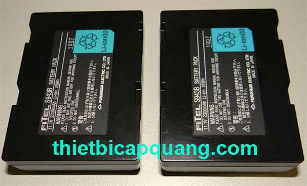 Pin máy hàn cáp quang Fitel S943B chính hãng