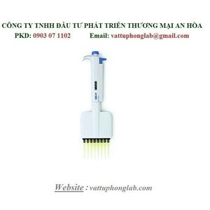 Pipet tự động 12 kênh dải 0.5 - 10 micrôlit