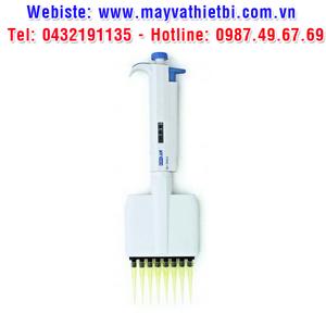 Pipet tự động 12 kênh dải 50 - 300 micrôlit