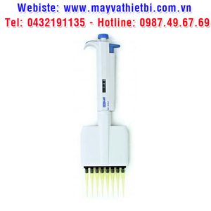Pipet tự động 8 kênh dải 50 - 300 micrôlit