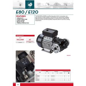 Bơm dầu diesel Piusi E80T