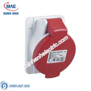 Ổ cắm gắn âm dạng nghiêng 4P 16A 400V IP44 - Model PKF16F434