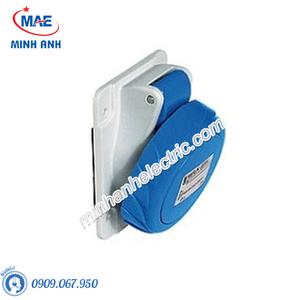 Ổ cắm gắn âm dạng nghiêng 3P 16A 230V IP67 - Model PKF16F723