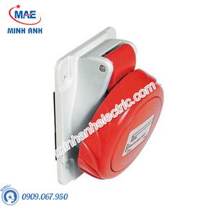 Ổ cắm gắn âm dạng nghiêng 4P 16A 400V IP67 - Model PKF16F734