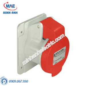 Ổ cắm gắn âm dạng thẳng 5P 16A 400V IP44 - Model PKF16G435