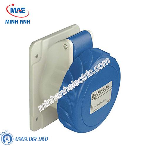 Ổ cắm gắn âm dạng thẳng 3P 63A 230V IP67 - Model 81678