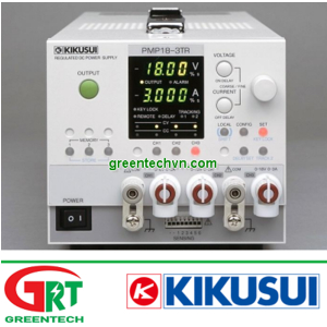 PMP18-3TR | Kikusui PMP18-3T | Máy tạo nguồn | Multi-output power supply 3 Output | Kikusui Vietnam