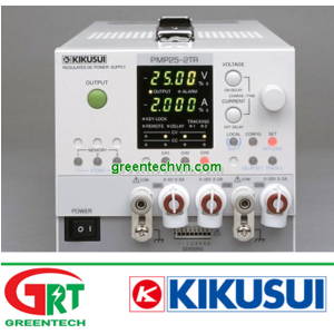 PMP25-2TR | Kikusui PMP25-2TR | Máy tạo nguồn | Multi-output power supply 3 Output | Kikusui Vietnam