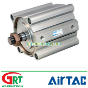 Pneumatic cylinder / double-acting | ACQ series | Xilanh 2 h.trình | Airtac Vietnam | Khí nén Airtac