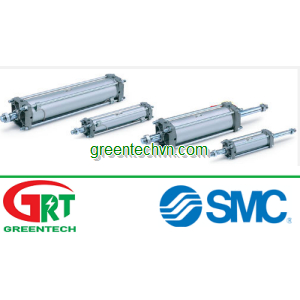 Pneumatic cylinder / double-acting / adjustable-stroke | CA2 series |SMC Pneumatic | SMC Vietnam