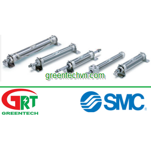 Pneumatic cylinder / double-acting / compact / waterproof | CM2 series |SMC Pneumatic | SMC Vietnam