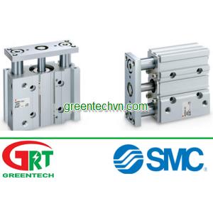 Pneumatic cylinder / double-acting / guided / compact | MGP series |SMC Pneumatic | SMC Vietnam