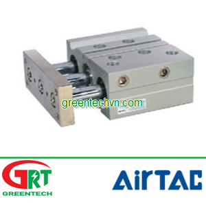 Pneumatic cylinder / double-acting / guided / compact | TCL, TCM series | Airtac Vietnam | Khí nén A