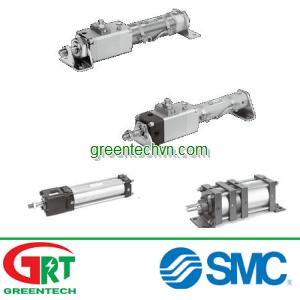 Pneumatic cylinder / double-acting / rod lock ø 16 - 160 mm | CL series |SMC Pneumatic | SMC Vietnam