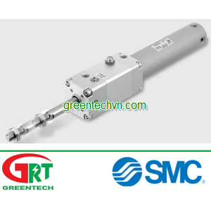 Pneumatic cylinder / double-acting / rod lock ø 20 - 40 mm | CNG series |SMC Pneumatic | SMC Vietnam