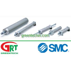 Pneumatic cylinder / single-acting / stainless steel | CG1 series |SMC Pneumatic | SMC Vietnam