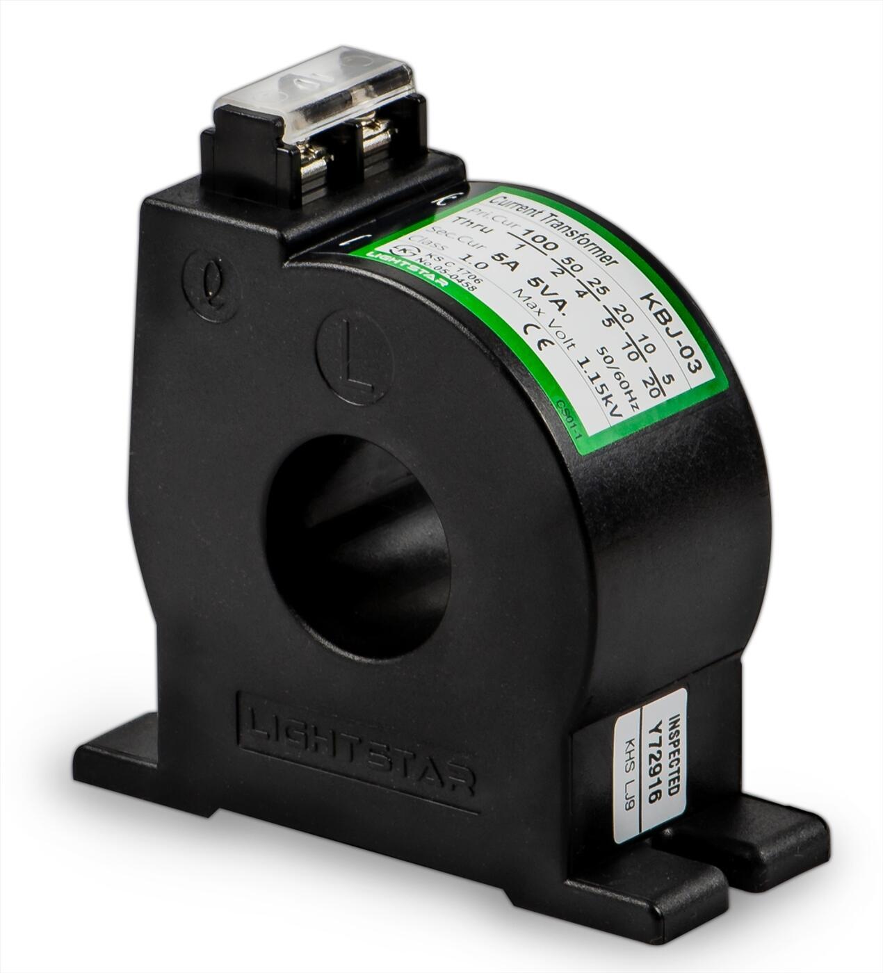 Biến dòng đo lường KBJ-03 (100/5A,120/5A,150/5A,200/5A,300/5A,400/5A)