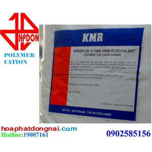 Chất trợ lắng Polymer Cation CPAM (Cationic Polyacrylamide)