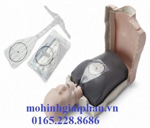 Mô hình thực hành kỹ năng CPR cơ bản có kiểm soát điện tử người lớn